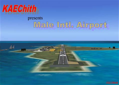 Male International Airport Scenery for FS2004