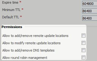 DNS Manager provides DNS zone management, geo replication