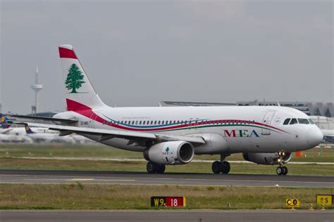MEA Middle East Airlines (ME), OD-MRR, Airbus, A 320-200