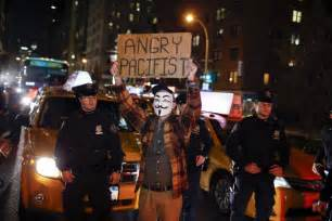 Scenes From a Ferguson Protest in New York City - The Atlantic