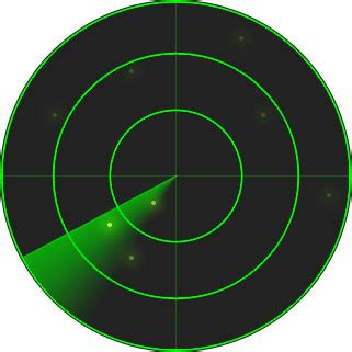 animation - Radar scanner effect using jquery - Stack Overflow