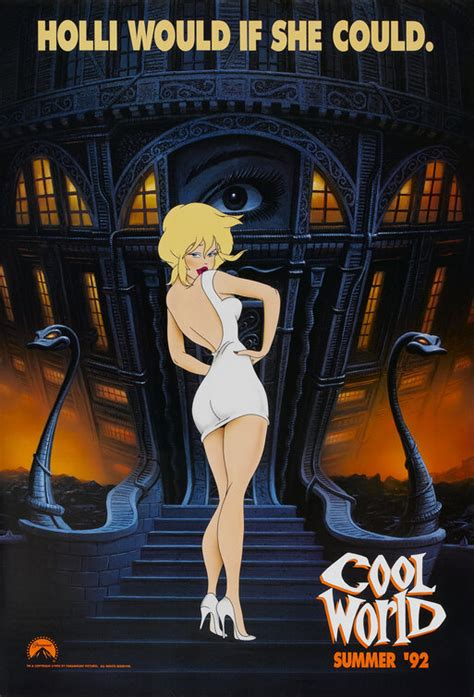 Cool World Movie Poster (#1 of 2) - IMP Awards