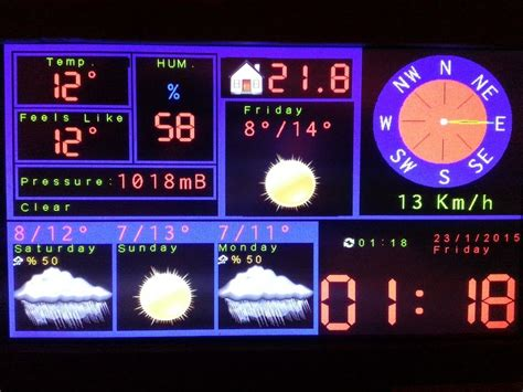Arduino TFT Forecast Weather Station With ESP8266 : 5 Steps