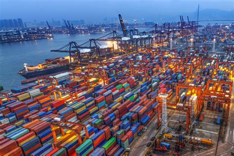 To service global trade, today's ships and cargo are