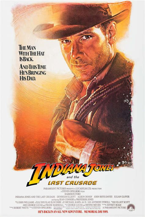 Indiana Jones and the Last Crusade Movie Poster (#1 of 4