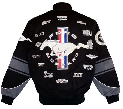 Ford Mustang jacket - US-car- and NASCAR- fashion