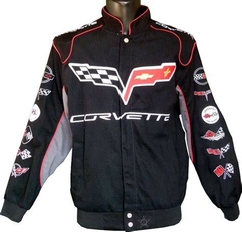 Corvette C6 Collage jacket - US-car- and NASCAR- fashion