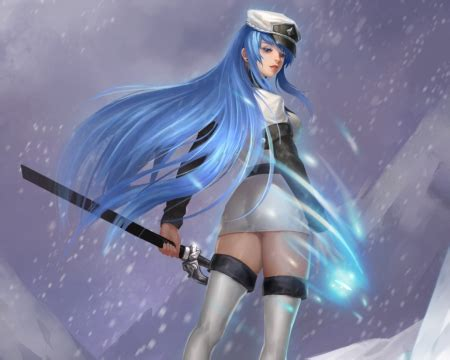 Esdeath - Other & Anime Background Wallpapers on Desktop