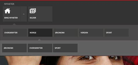 c# - How to implement Win8 news app bar style menu in WPF