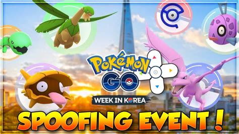 New SPOOFING EVENT in Pokemon Go! NEW SHINIES & RARE