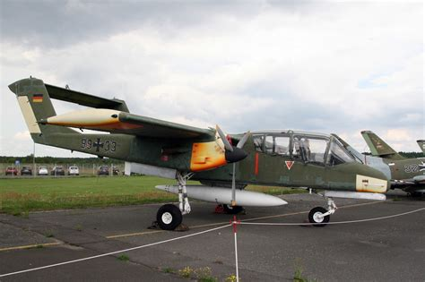 North American Rockwell OV-10B Bronco (99+33) as used by