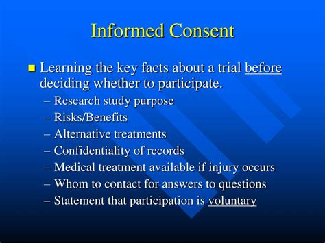 PPT - Clinical Trial Process: An Overview PowerPoint