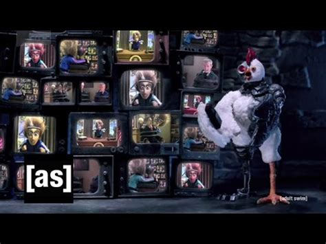 Robot Chicken and Mad Scientist to the Rescue!   Robot