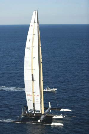 BMW ORACLE Racing's Victory in 33rd America's Cup