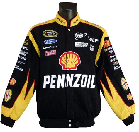 Pennzoil, # 23 Joey Logano , Ford jacket - 2015 - US-car