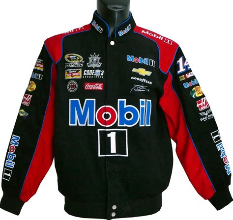 Tony Stewart - Mobil 1 jacket - US-car- and NASCAR- fashion