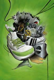 """""""Hip Hop Culture"""" Painting art prints and posters by Fred"""
